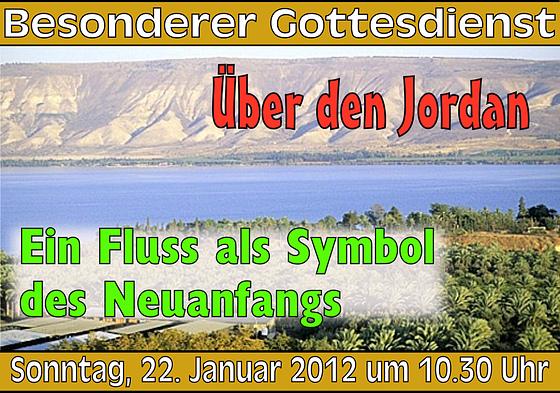 Logo des Besonderen Gottesdienstes am 22.1.2012