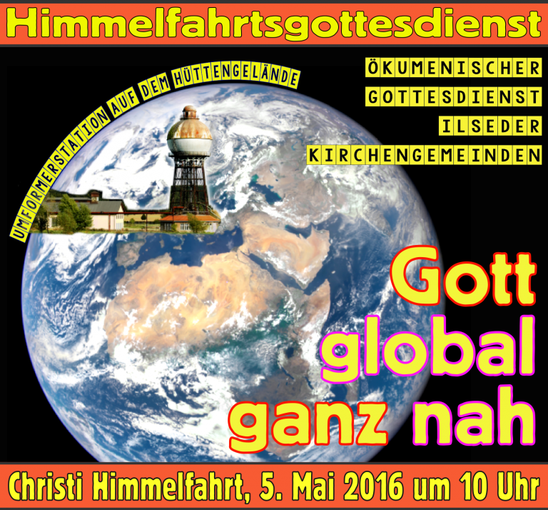 Gottesdienst Himmelfahrt 5. Mai 2016