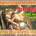 Read more about the article Teurer Segen – Gott fest halten
