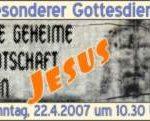 Die geheime Botschaft von Jesus
