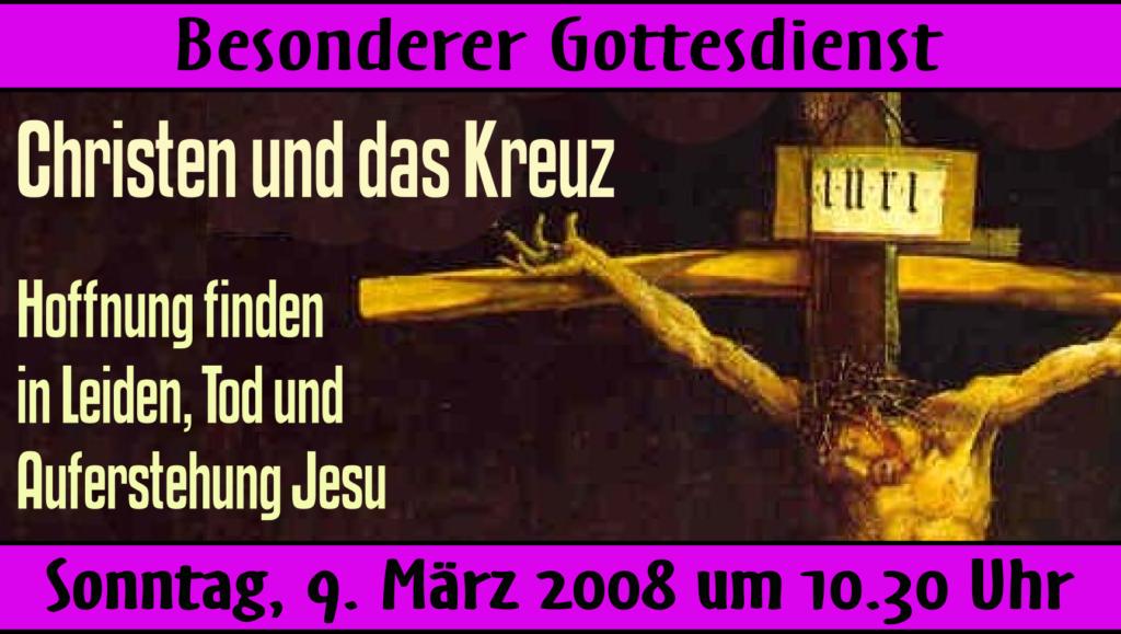 Logo: Christen und das Kreuz